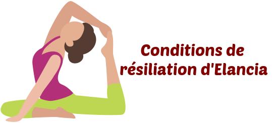 Résiliation à Elancia Cours De Remise En Forme Lettre Type