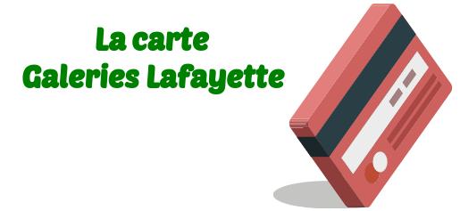 Résilier en ligne votre carte Galeries Lafayette Cofinoga ...