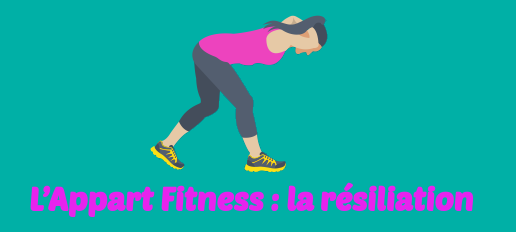 LAppart Fitness resiliation