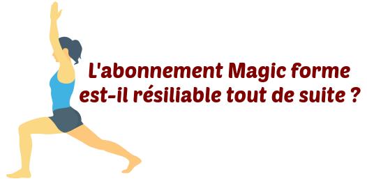 salle de sport magic form comment r 233 silier abonnement facilement
