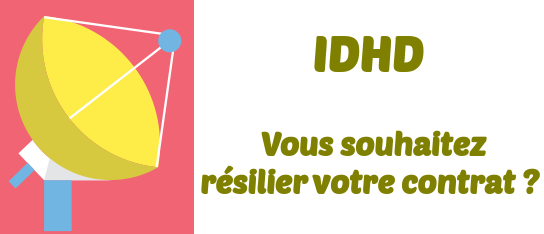 Resilier IDHD