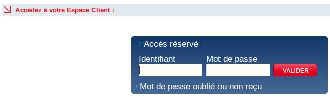acces service client clemobile