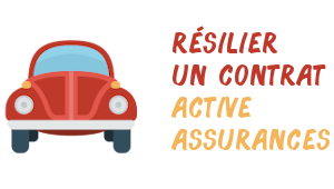 résiliation actives assurances