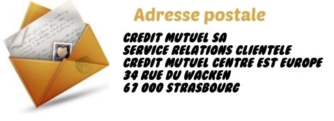 adresse credit mutuel
