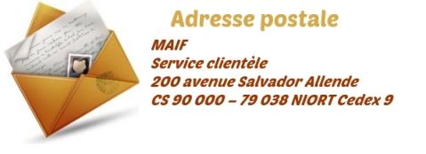 adresse maif