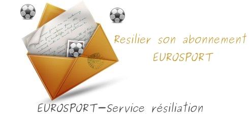 adresse resiliation eurosport