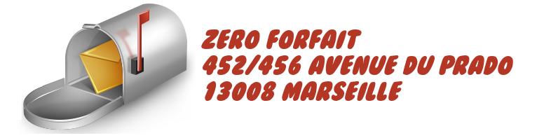 adresse resiliation zeroforfait