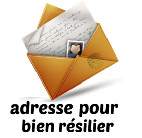 adresse resilier