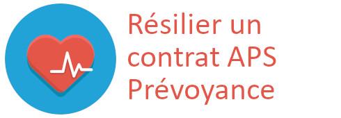 résilier contrat aps prévoyance