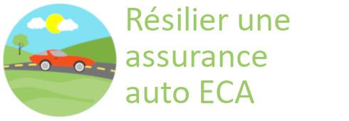 résilier assurance auto eca