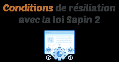 condition resiliation loi sapin 2