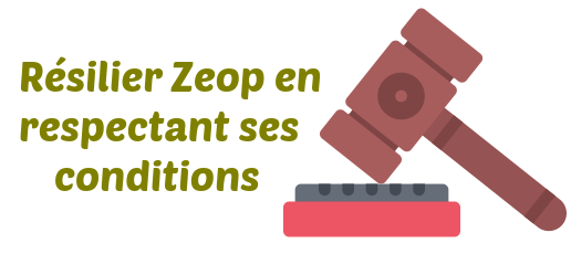 conditions resiliation zeop