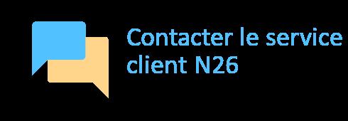 contacter n26
