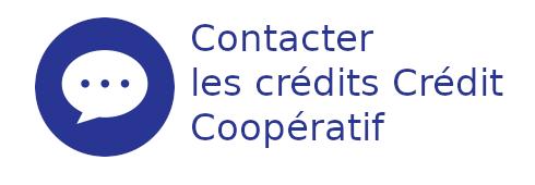 contact crédit coopératif