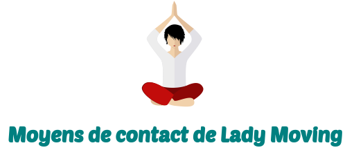 contact lady moving