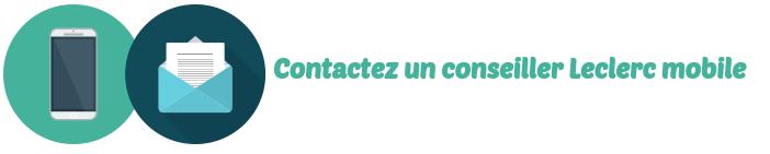 contact leclerc mobile