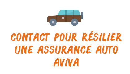 contact résilier assurance auto aviva