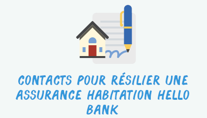 contact résilier assurance habitation hellobank