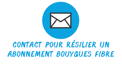 contact résilier bouygues fibre