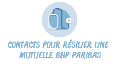 contacts résilier mutuelle bnp paribas