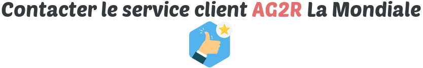 contact service client ag2r
