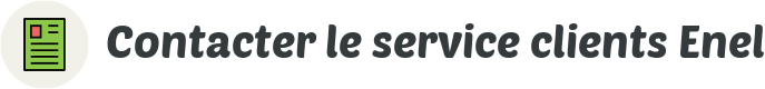 contact service clients enel