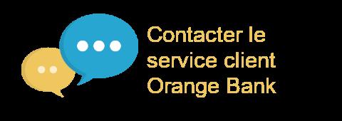 contacter service client orange bank