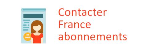 contacter France Abonnements