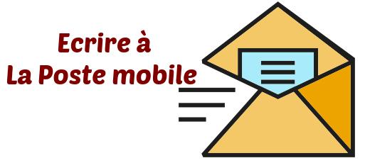 contacter la poste mobile