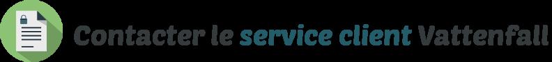 contacter service client vattenfall