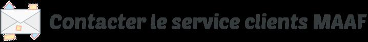 contacter service clients maaf