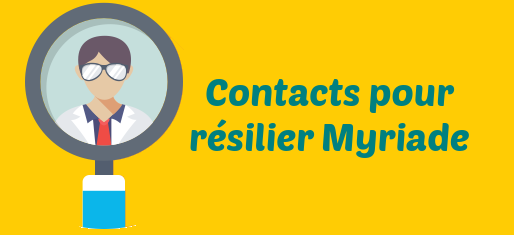 contacts resiliation myriade