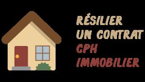 résiliation cph immobilier