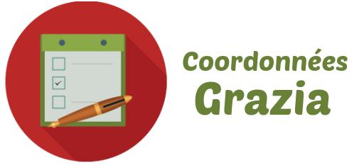 coordonnees resiliation grazia