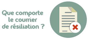 courrier resiliation credit mutuel