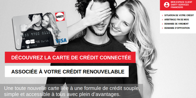 darty carte credit
