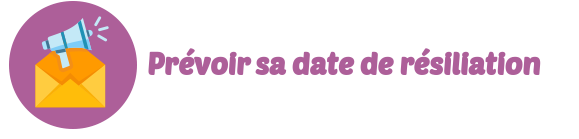 date resiliation