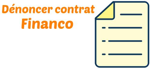 denoncer contrat financo