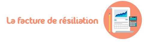 facture de resiliation