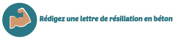 lettre resiliation domyos