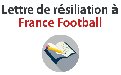 lettre resiliation france football