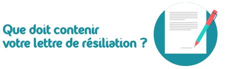 lettre resiliation liberation