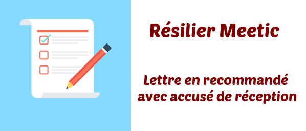 Comment resilier meetic