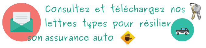 lettre type assurance auto