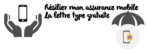 lettre type assurance mobile