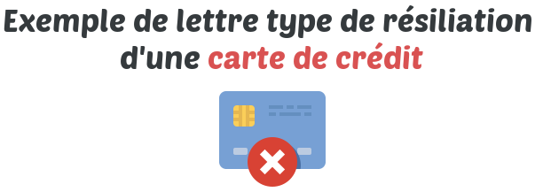 Resiliation D Une Carte De Credit Telecharger Gratuitement La Lettre Type