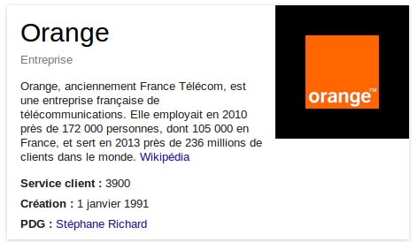 orange info