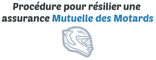procedure resilier assurance mutuelle des motards