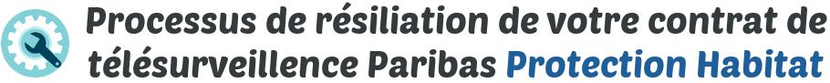processus resiliation bnp protection habitat
