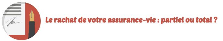 rachat assurance-vie